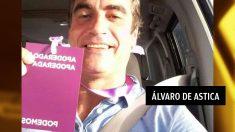Votemos Fuerteventura (la franquicia local de Podemos) y ex edil en el Ayuntamiento de La Oliva Álvaro de Astica.