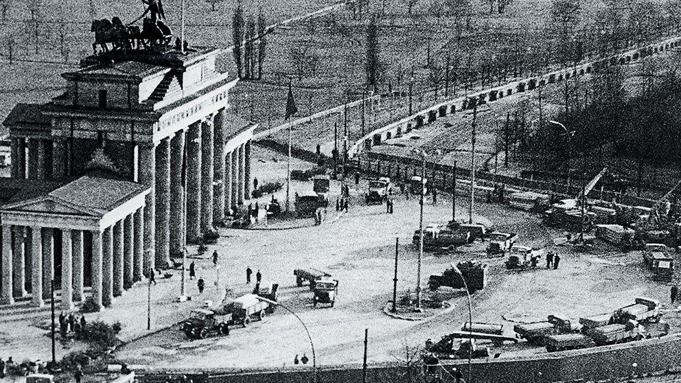 luft desinficera uppenbar  Por qué se construyó el muro de Berlín