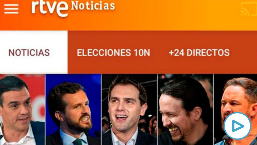 Abascal critica las fotos que la RTVE de Mateo elige de él: «Se les ha olvidado pintarme los cuernos&#... - OKDIARIO