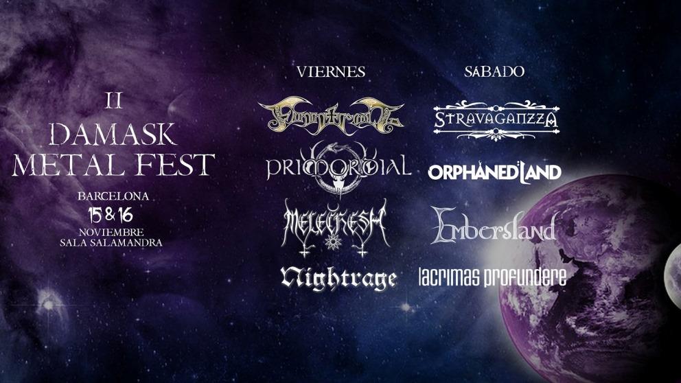 El Damask Metal Fest regresa tras el gran éxito del año pasado en su estreno