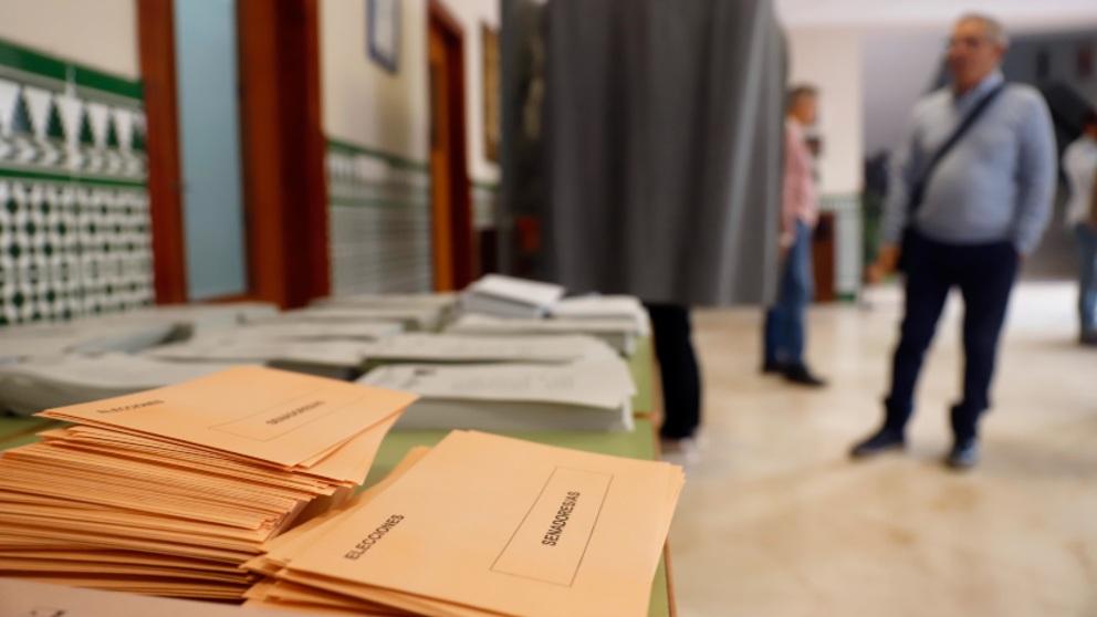 Imagen de las papeletas de las elecciones. Foto: P