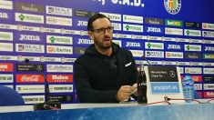 José Bordalás, técnico del Getafe, en rueda de prensa (@GetafeCF)