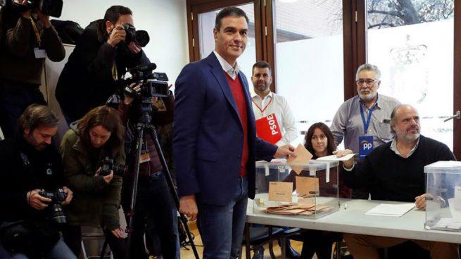 Sánchez pide el apoyo a la militancia sin hacer autocrítica tras haber perdido votos y escaños el 10-N