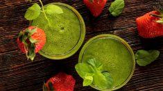 Los zumos verdes son un gran aliado si quieres perder peso