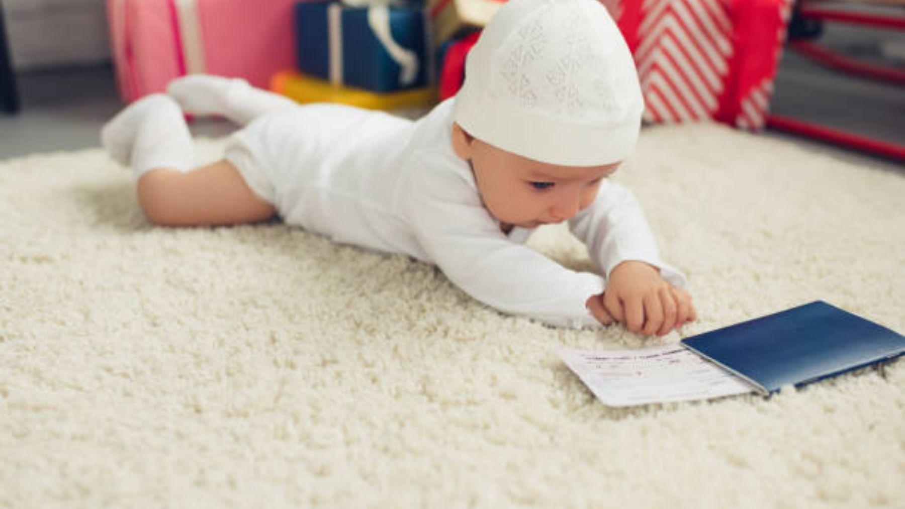 Todos los pasos para poder hacer el pasaporte al bebé