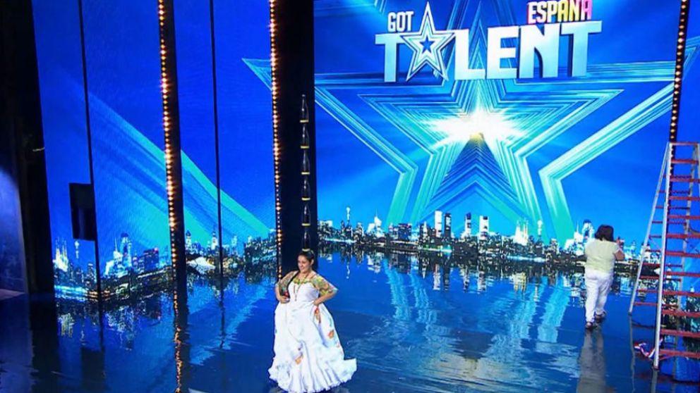 Erika Vargas en 'Got Talent'