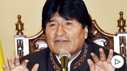 Evo Morales, presidente de Bolivia. (Foto: AFP)