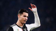 Gesto-de-Cristiano-Ronaldo-al-ser-sustituido-en-el-último-encuentro-de-la-Juventus-ante-el-Milan-(AFP)