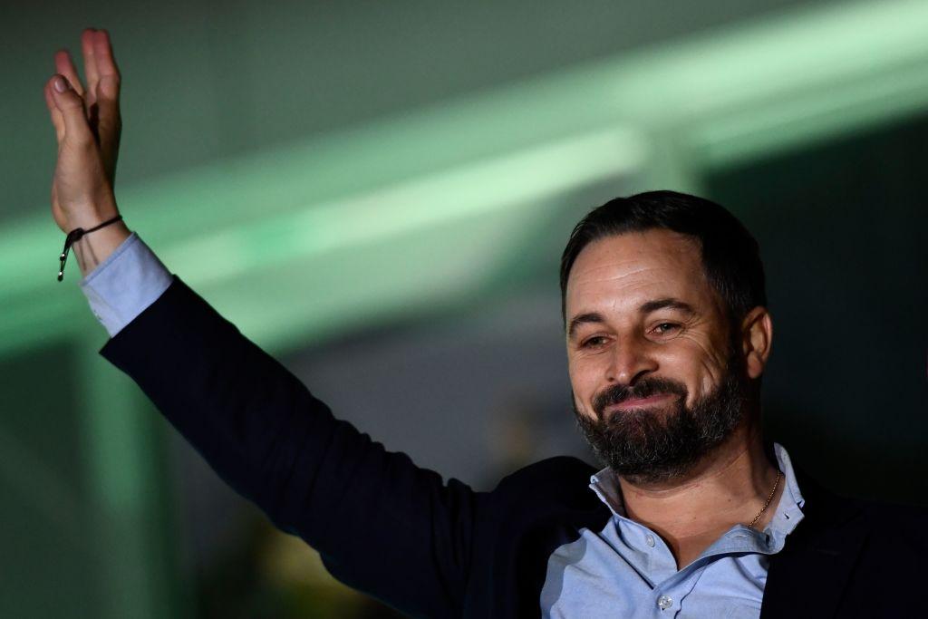 Santiago Abascal, líder de VOX @Getty