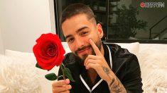 Maluma besa a una fan en su concierto de Puerto Rico