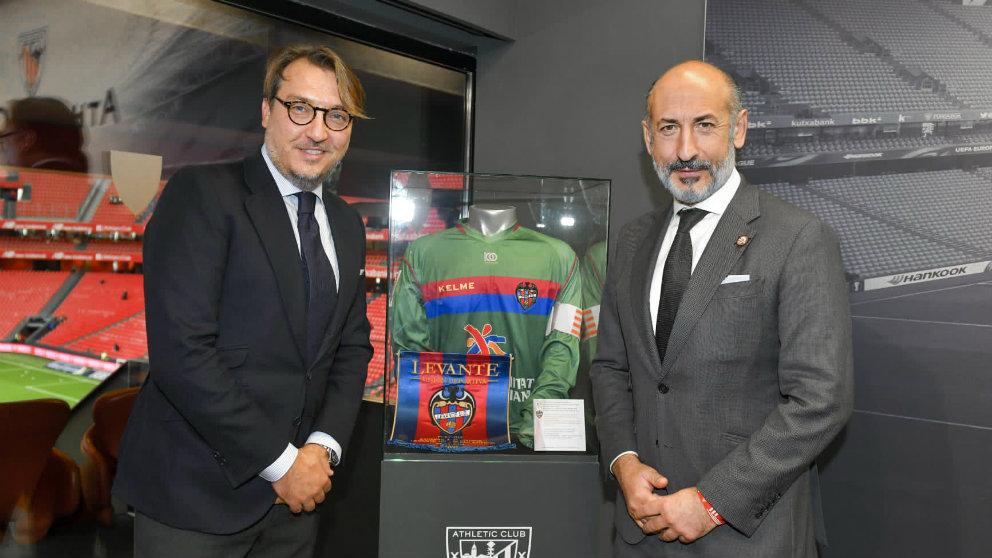 Quico Catalán y Aitor Elizegi (Athletic Club)