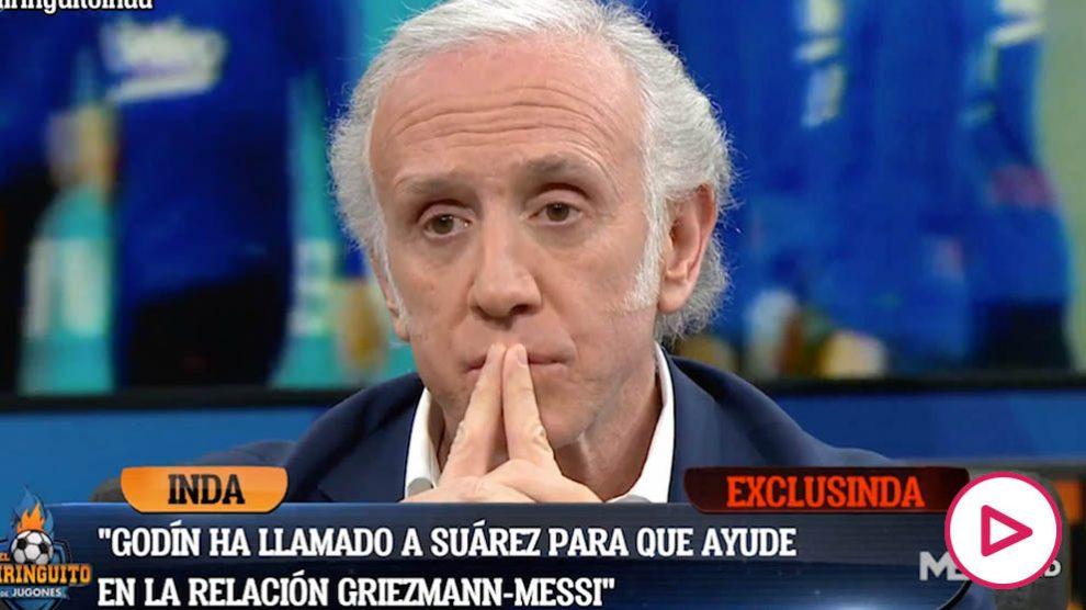 Inda desveló la última táctica empleada por Griezmann para reconducir su relación con Messi.