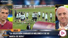 La selección española ha mejorado su contrato con Adidas.
