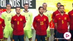 La selección española ya tiene camiseta para la Eurocopa.