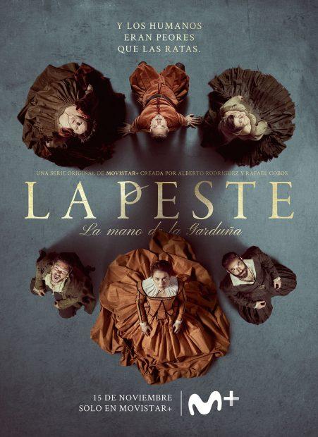 Cartel de la segunda temporada de la serie de Movistar+ 'La Peste: La mano de la Garduña'.