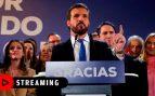 Comparecencia de Pablo Casado tras el acuerdo PSOE – Podemos