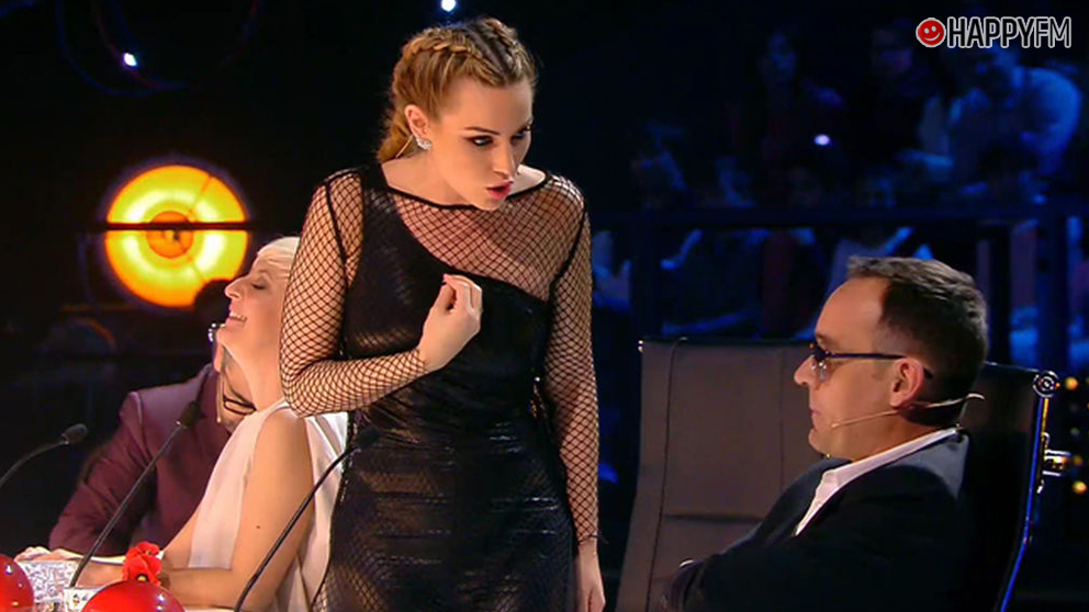 Edurne y Risto Mejide en 'Got Talent'.