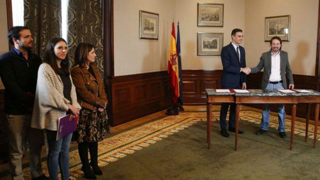 Iglesias será vicepresidente: las claves del acuerdo de coalición entre el PSOE y Podemos