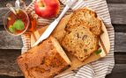 Receta de plum cake de manzana con canela y nueces