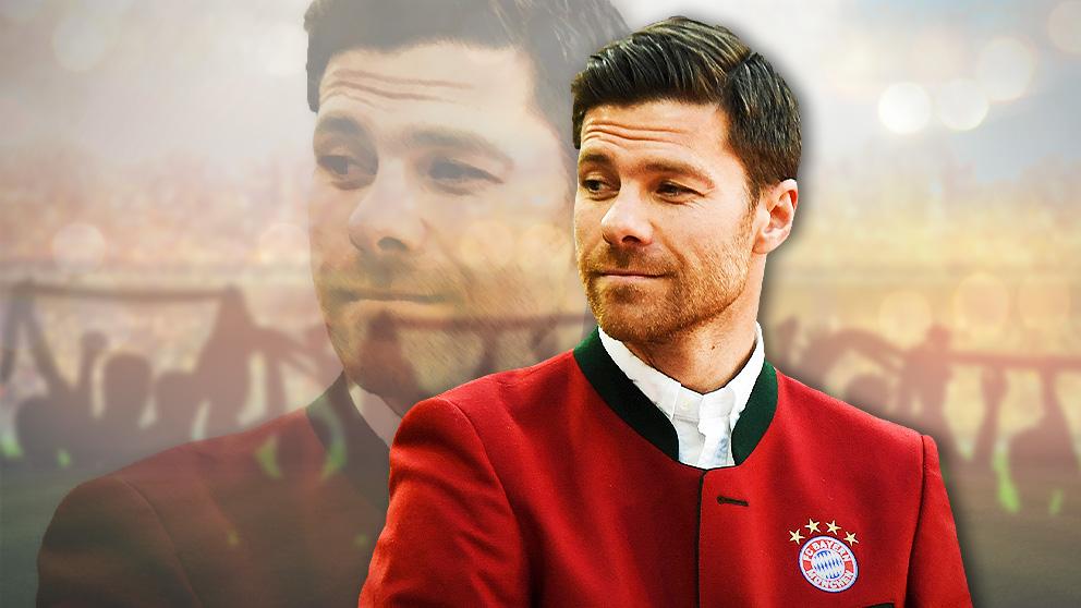Xabi Alonso, en un acto con el Bayern de Múnich.