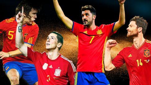 La generación de oro del fútbol español se está apagando.