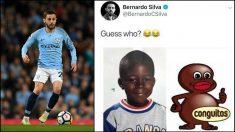 Bernardo Silva ha sido sancionado por este tuit.