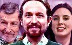 Iglesias exige que Irene Montero sea ministra de Sanidad y el 'general rojo' Julio Rodríguez de Defensa