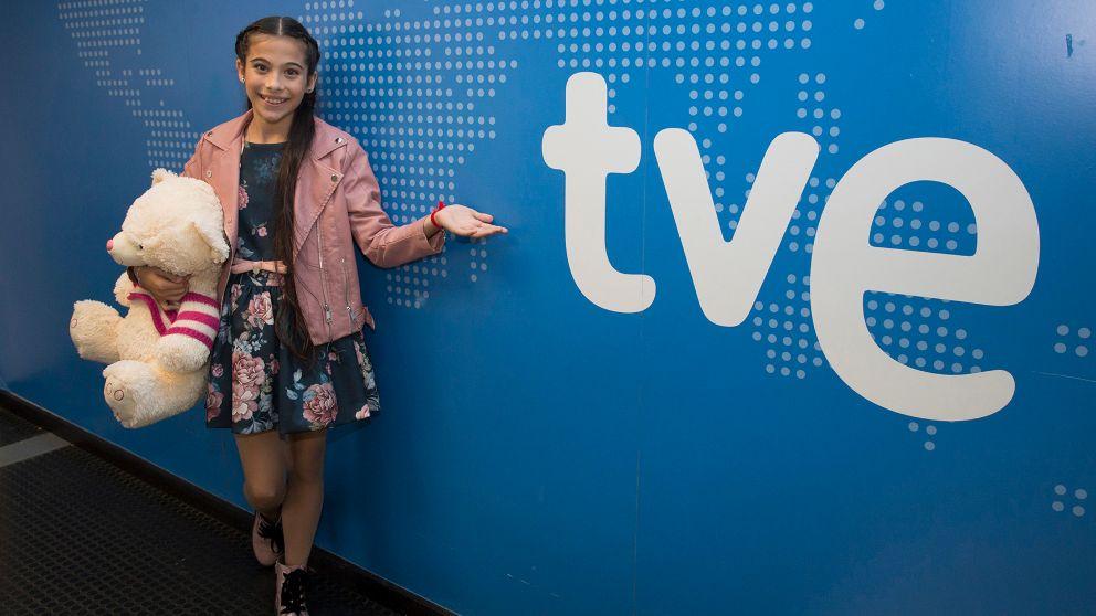 Melani rumbo a 'Eurovisión Junior 2019'