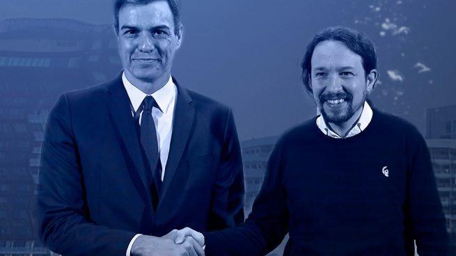 Sánchez e Iglesias hunden el Ibex: pierde lo que gasta el Estado en servicios sociales en una legislatura