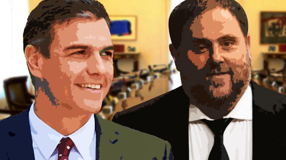 Pedro Sánchez necesita la abstención de los de Junqueras para el Gobierno de coalición de Podemos