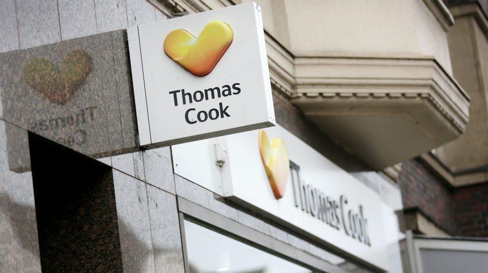 Oficina de Thomas Cook en Dusseldorf