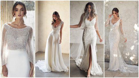 Anna Campbell ha creado diseños espectaculares para novias