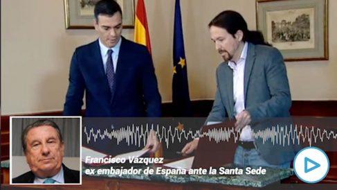 Francisco Vázquez ex alcalde de La Coruña y ex embajador de España ante la Santa Sede