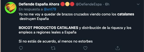 Empresas independentistas 'dejan de ser catalanas' para evitar el boicot