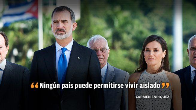 El Rey pide al presidente de Cuba cambios que permitan la libertad