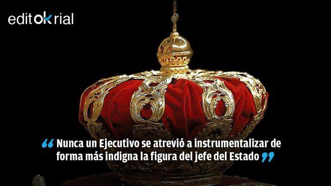 El Gobierno humilla al Rey