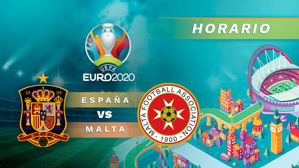 Clasificación Eurocopa 2020: España – Malta | Horario del partido de fútbol de Clasificación Eurocopa 2020.