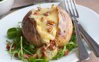 Receta de patatas rellenas de champiñones y bechamel