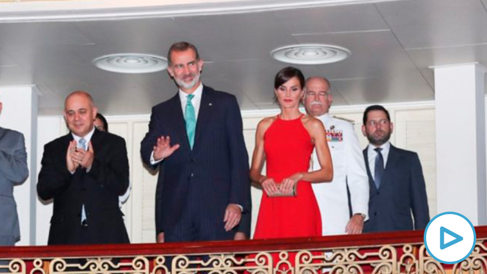 Los Reyes almuerzan en un paladar y asisten a una gala de danza en su honor en el Gran Teatro de La Habana. Foto: EP