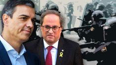 Torra consigue restringir el uso de pelotas de goma gracias a la abstención del PSOE.