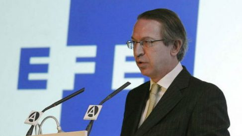 José Antonio Vera en su etapa como presidente de la agencia Efe. (Foto: Efe)