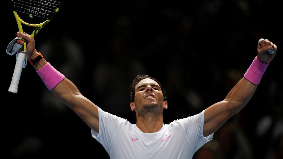 Rafa Nadal no tiene edad: el jugador más viejo en acabar el año como número 1 - OKDIARIO