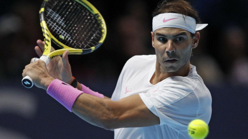 Nadal vs Tsitsipas, Copa Masters, en directo.
