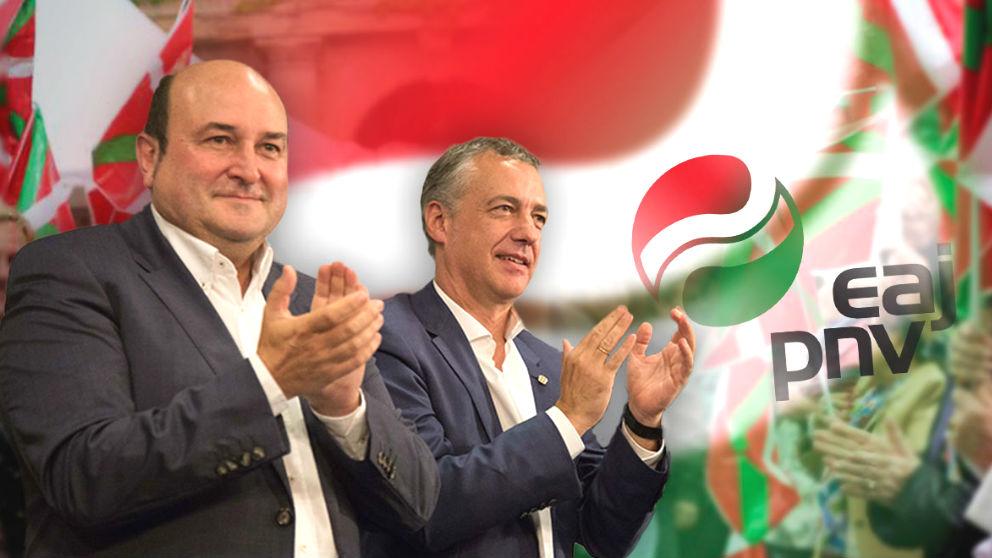 Andoni Ortuzar e Iñigo Urkullu.