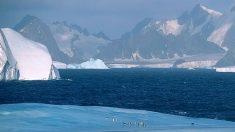 Por qué el Polo Sur es más frío que el Polo Norte