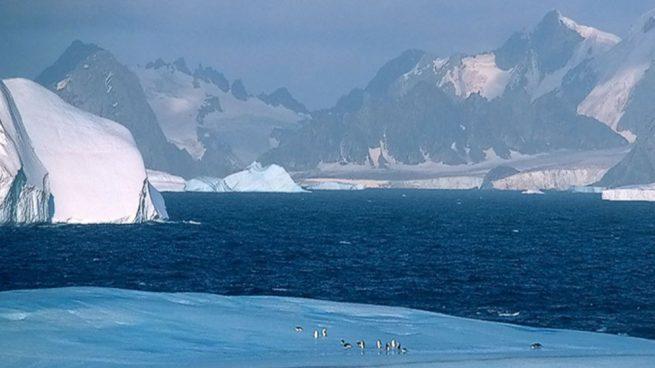 Polo Sur es más frío