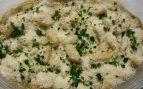 Ñoquis con queso roquefort