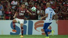 Reinier Jesús con el Flamengo (@ReinierJesus_10)
