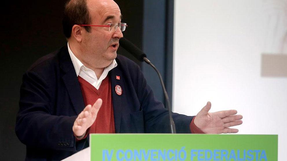 El primer secretario del PSC, Miquel Iceta. Foto: EFE