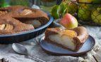 Receta de pastel vegano de pera y mazapán